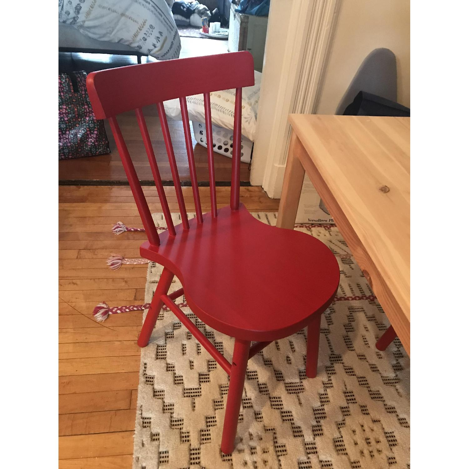 Ikea Norraryd Red Dining Chair-0