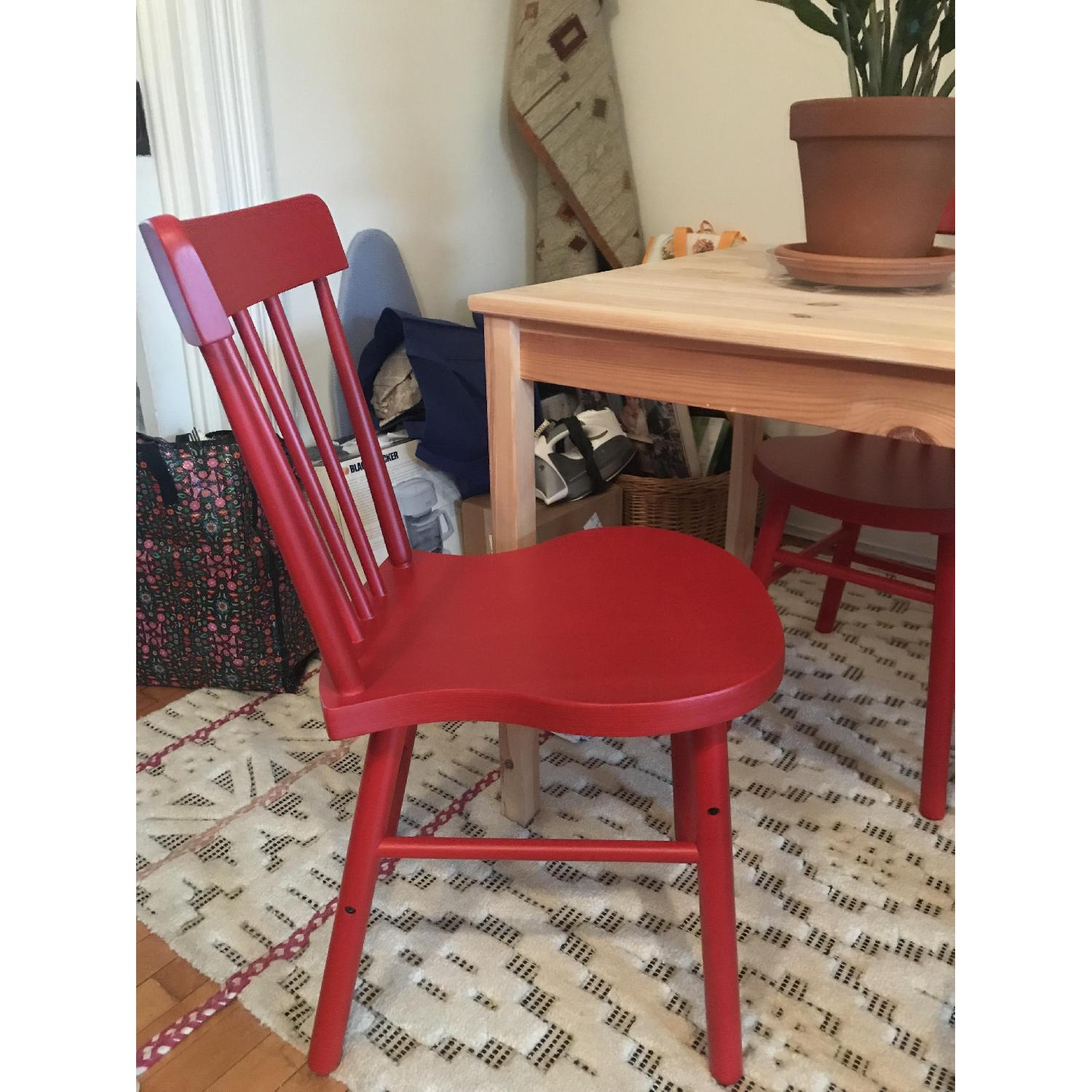 Ikea Norraryd Red Dining Chair-2