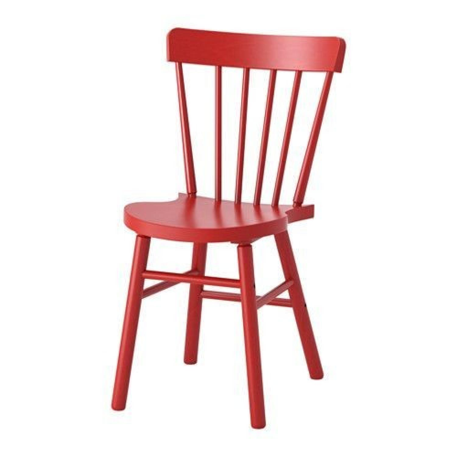 Ikea Norraryd Red Dining Chair
