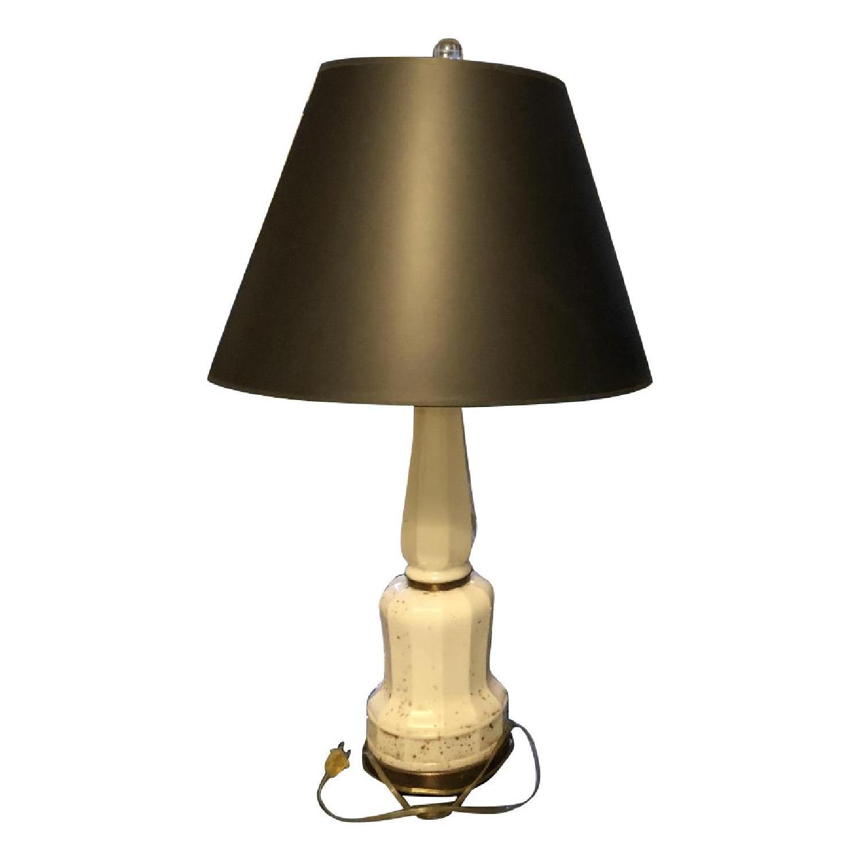 1940's Art Deco/Art Nouveau Alabaster Type Lamps