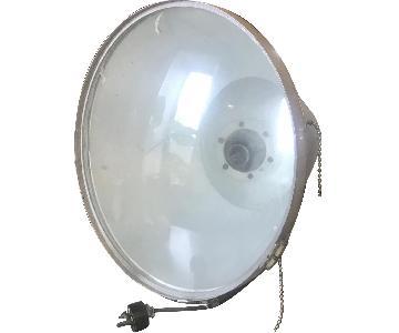 Vintage Hollywood Industrial Flood Lamp
