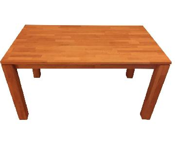 Vaja-Mobel GmBh Solid Beech Wood Table