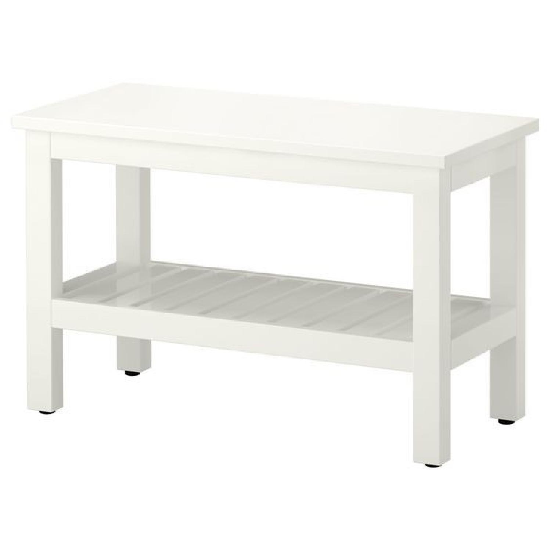 Ikea Hemnes White Bench