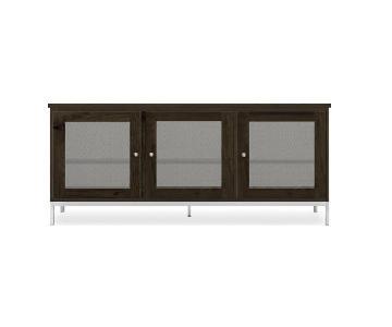 Room & Board Linear Media Cabinet w/ Steel Base