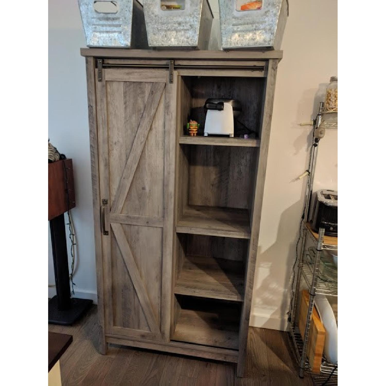 Better Homes & Gardens Farmhouse Bookcase/Storage Cabinet-0