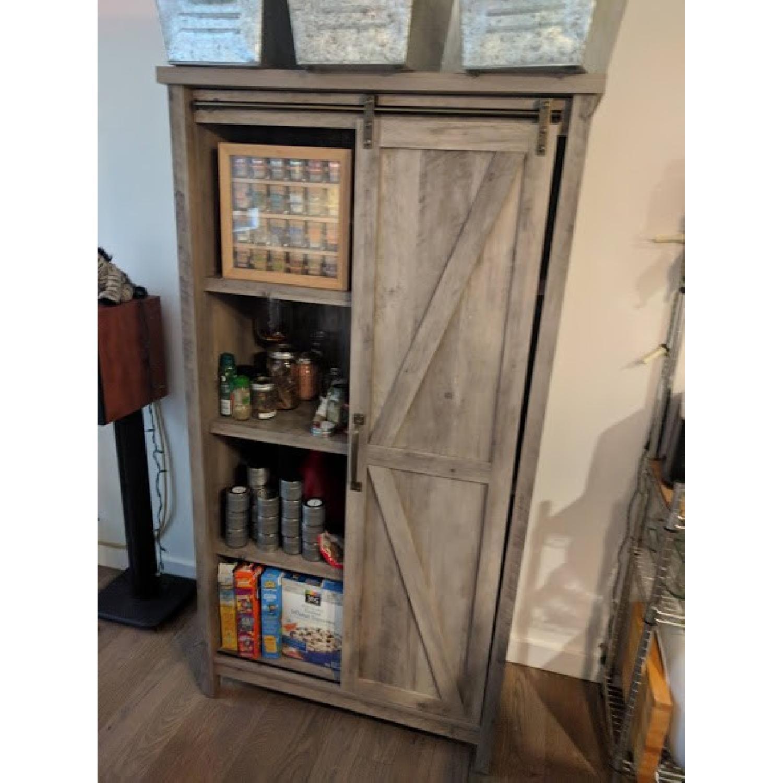 Better Homes & Gardens Farmhouse Bookcase/Storage Cabinet-1