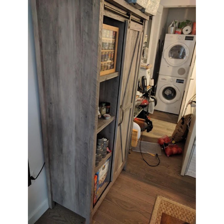 Better Homes & Gardens Farmhouse Bookcase/Storage Cabinet-2