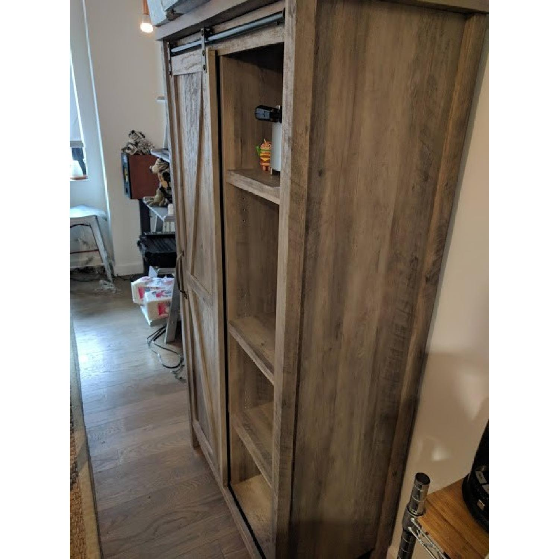 Better Homes & Gardens Farmhouse Bookcase/Storage Cabinet-3