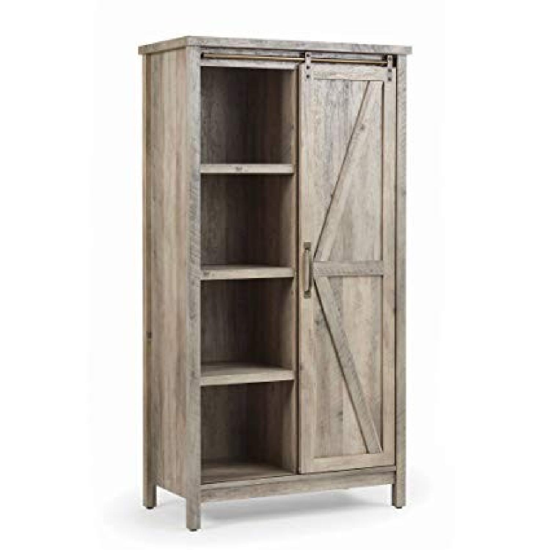 Better Homes & Gardens Farmhouse Bookcase/Storage Cabinet