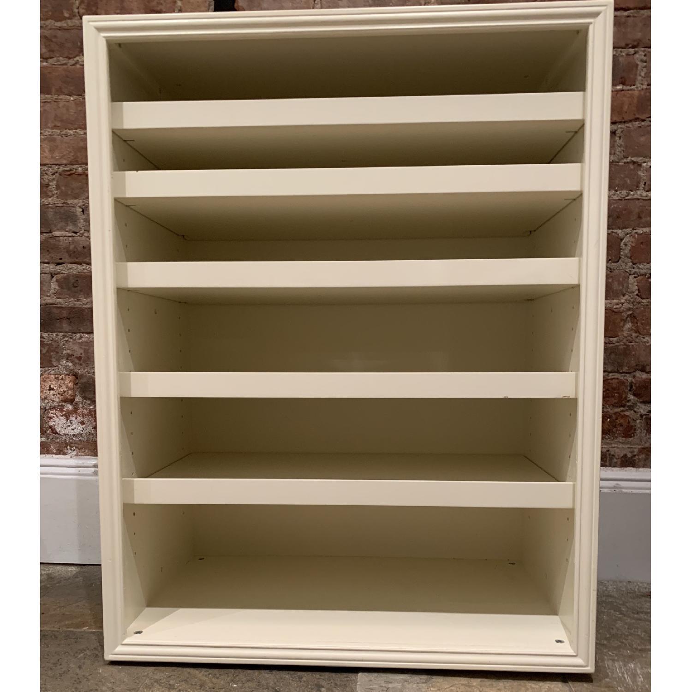 Pottery Barn Sutton Wide Cabinet/Shoe Rack-1