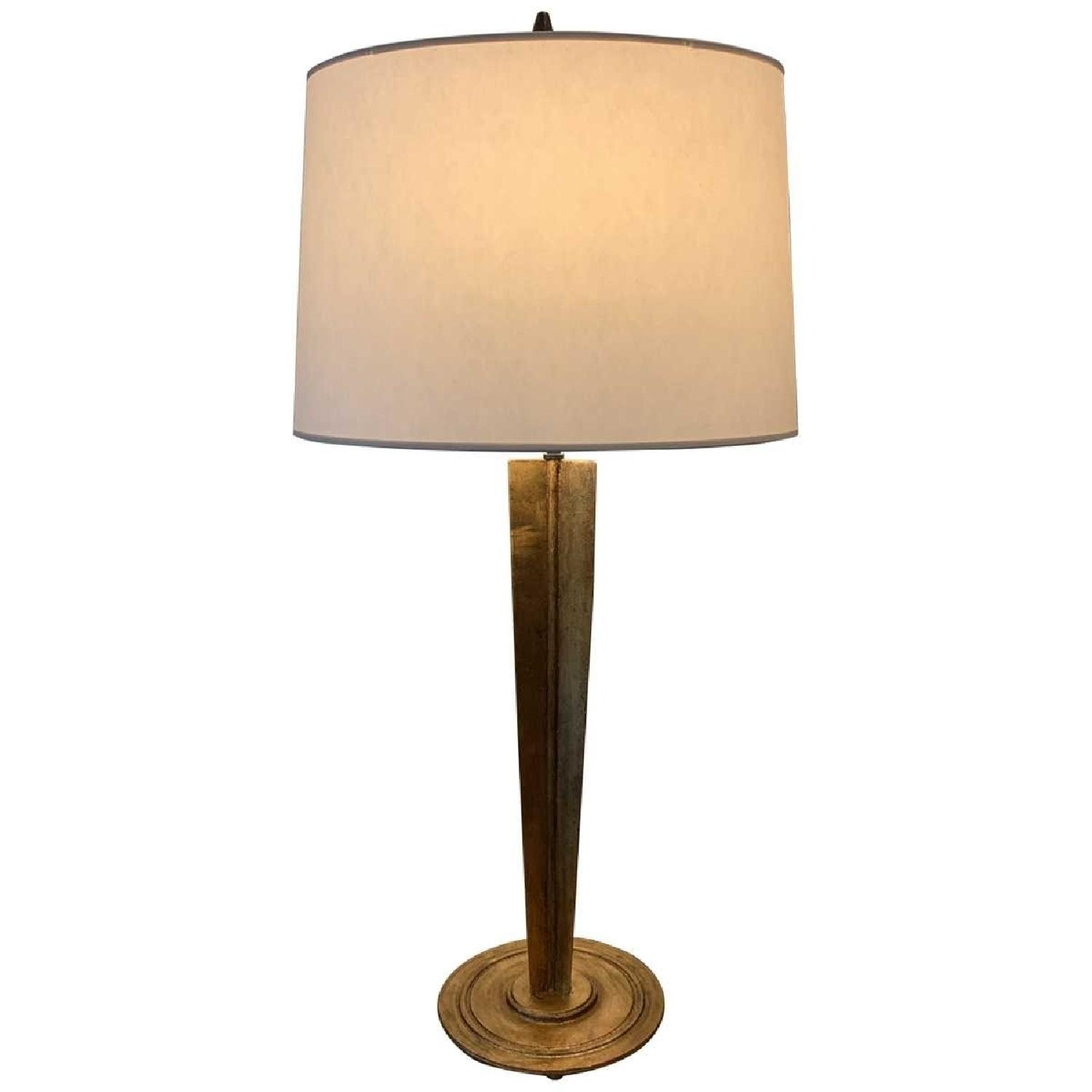 Contemporary Gilded Table Lamp