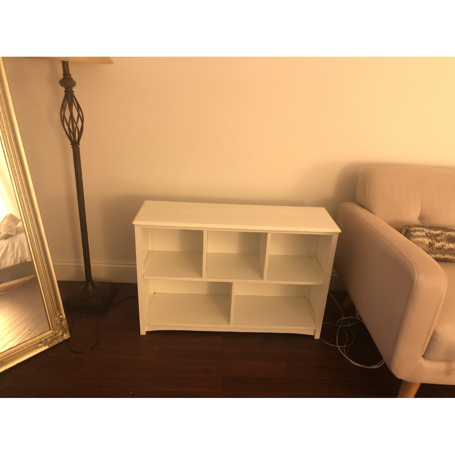 Low Bookcase in Simply White-0