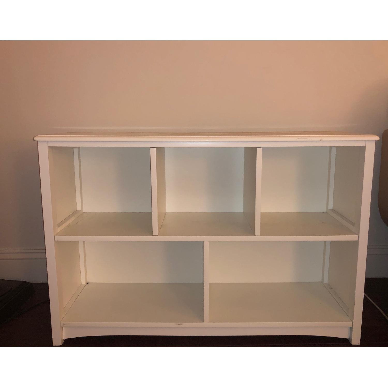 Low Bookcase in Simply White-2