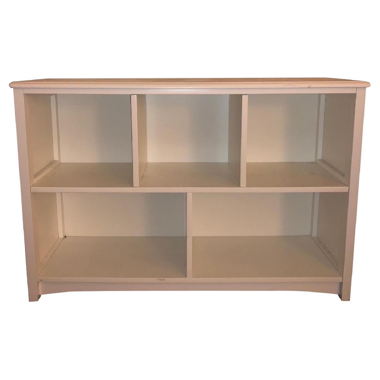 Low Bookcase in Simply White