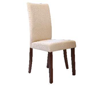 Abbyson Living High Back Fabric Dining Chairs