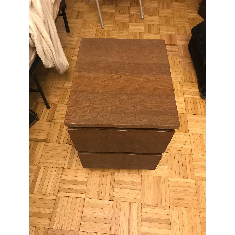 Ikea Malm 2 Drawer Nightstand-1