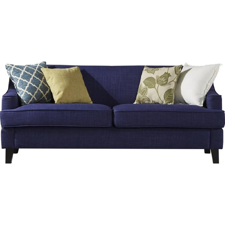 Birch Lane Rhinebeck Navy Sofa
