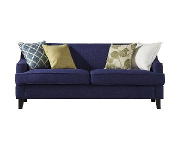 Birch Lane Rhinebeck Navy Sofa