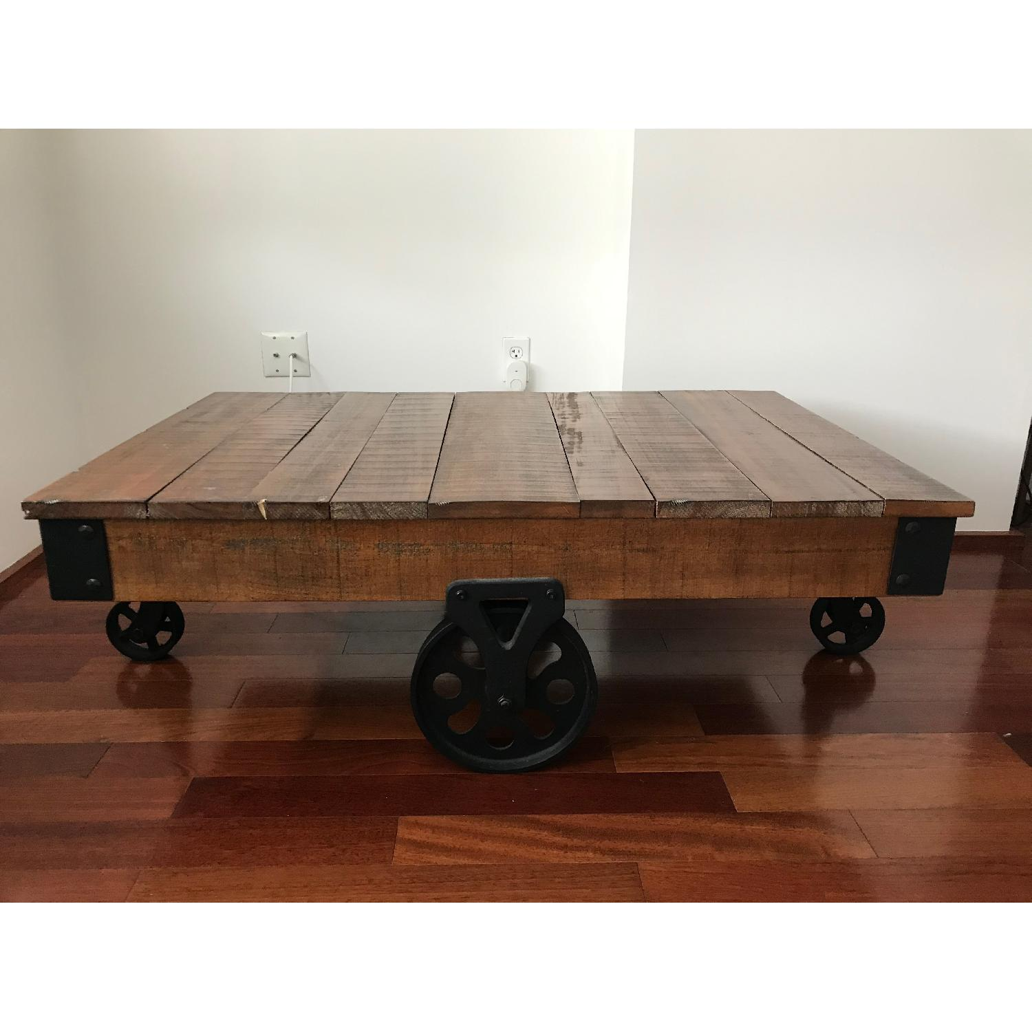 Coaster Distressed Country Wagon Coffee Table - image-1