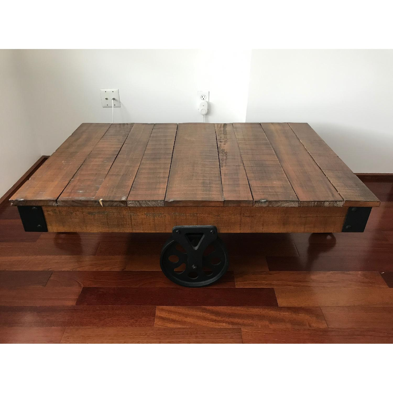 Coaster Distressed Country Wagon Coffee Table - image-2