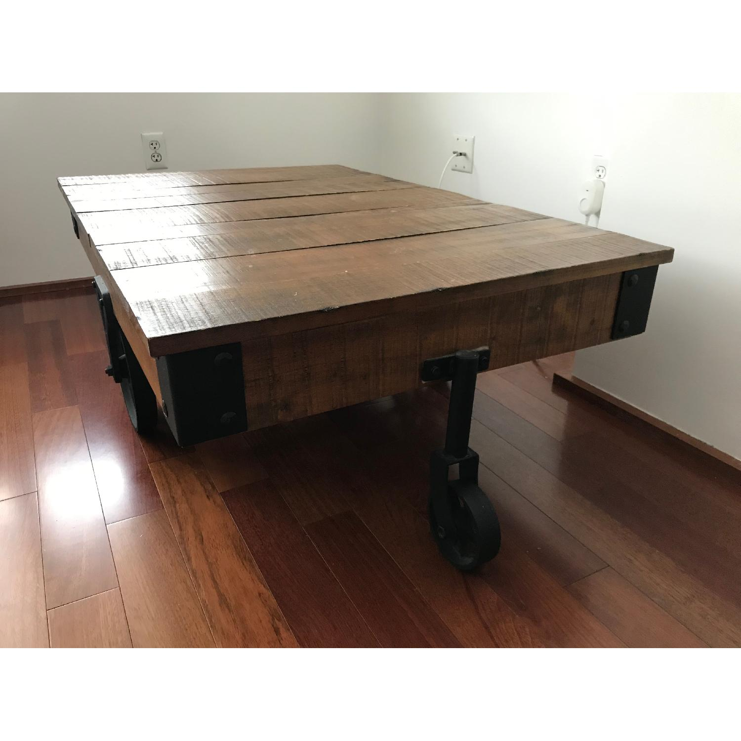 Coaster Distressed Country Wagon Coffee Table - image-3