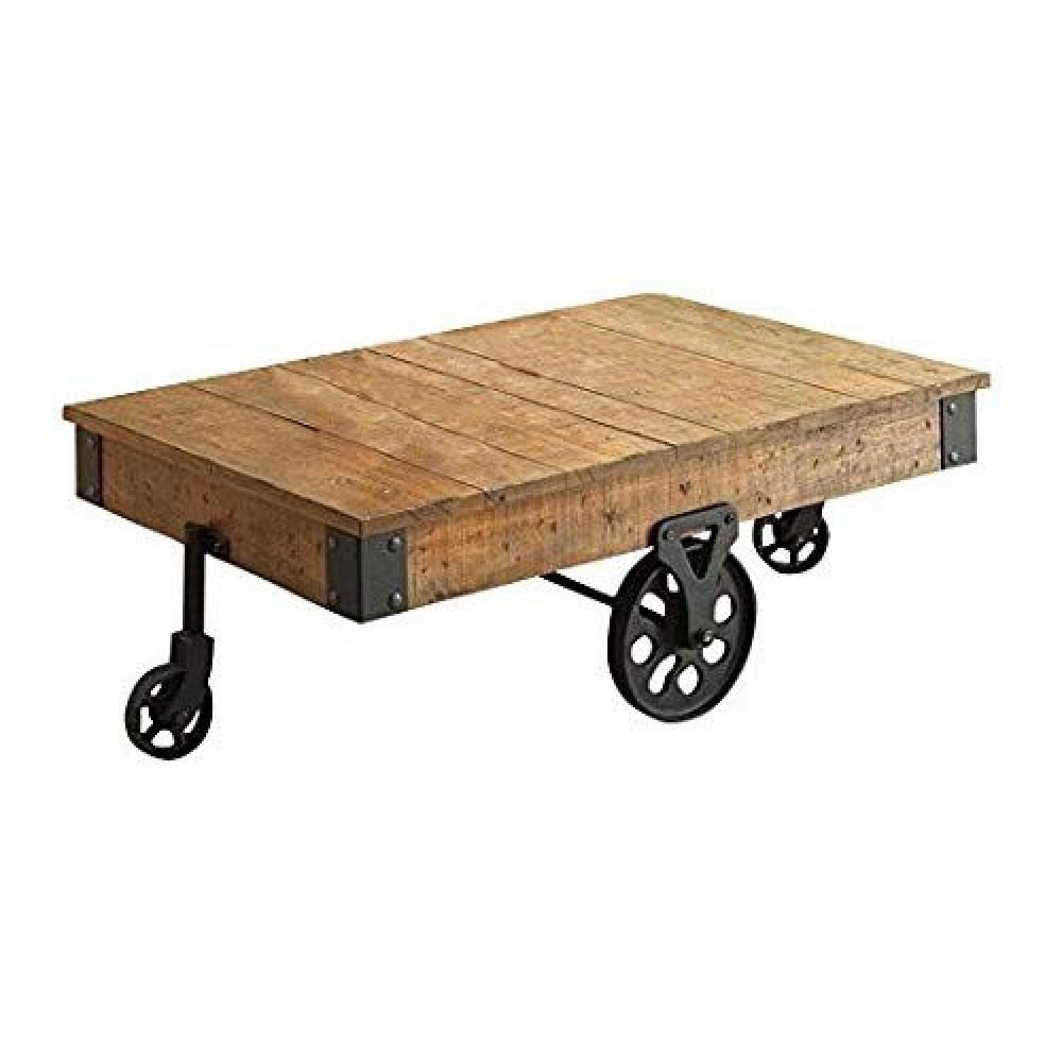 Coaster Distressed Country Wagon Coffee Table - image-0