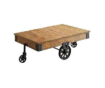 Coaster Distressed Country Wagon Coffee Table