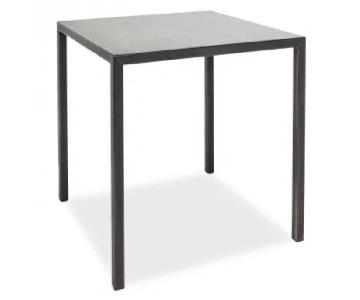 ABC Carpet and Home Flatiron-Braze Steel Dining Table