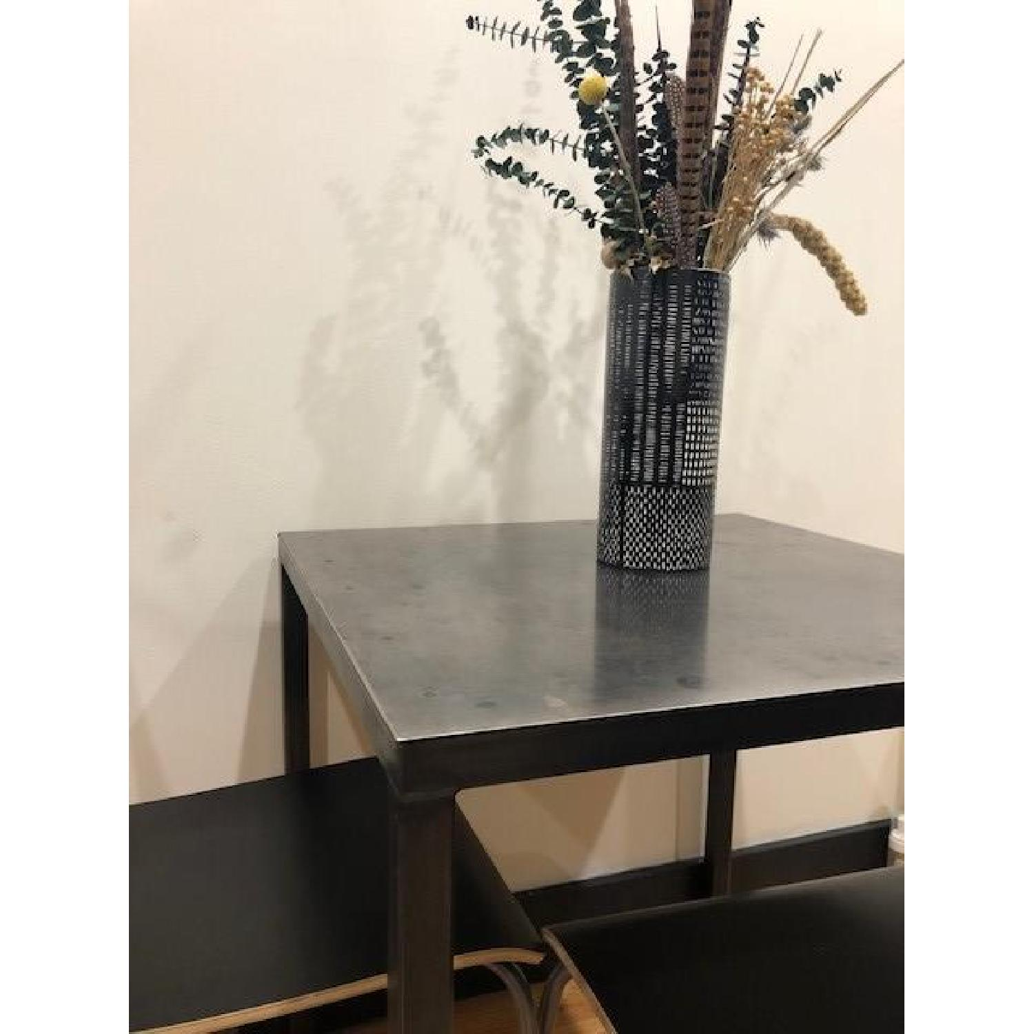 ABC Carpet and Home Flatiron-Braze Steel Dining Table-4