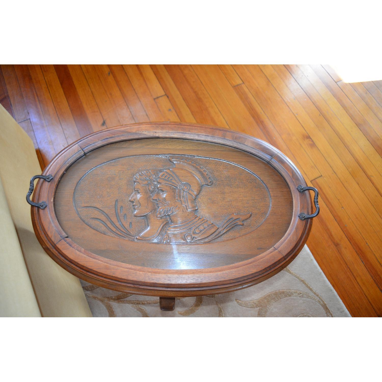Vintage Roman Sentry Side Table-0