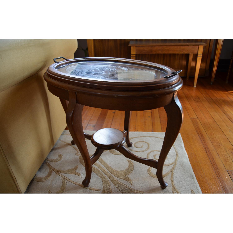 Vintage Roman Sentry Side Table-1