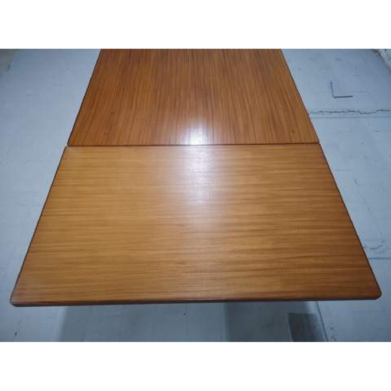 Mid-Century Modern Danish Extendable Draw Leaf Dining Table - image-7