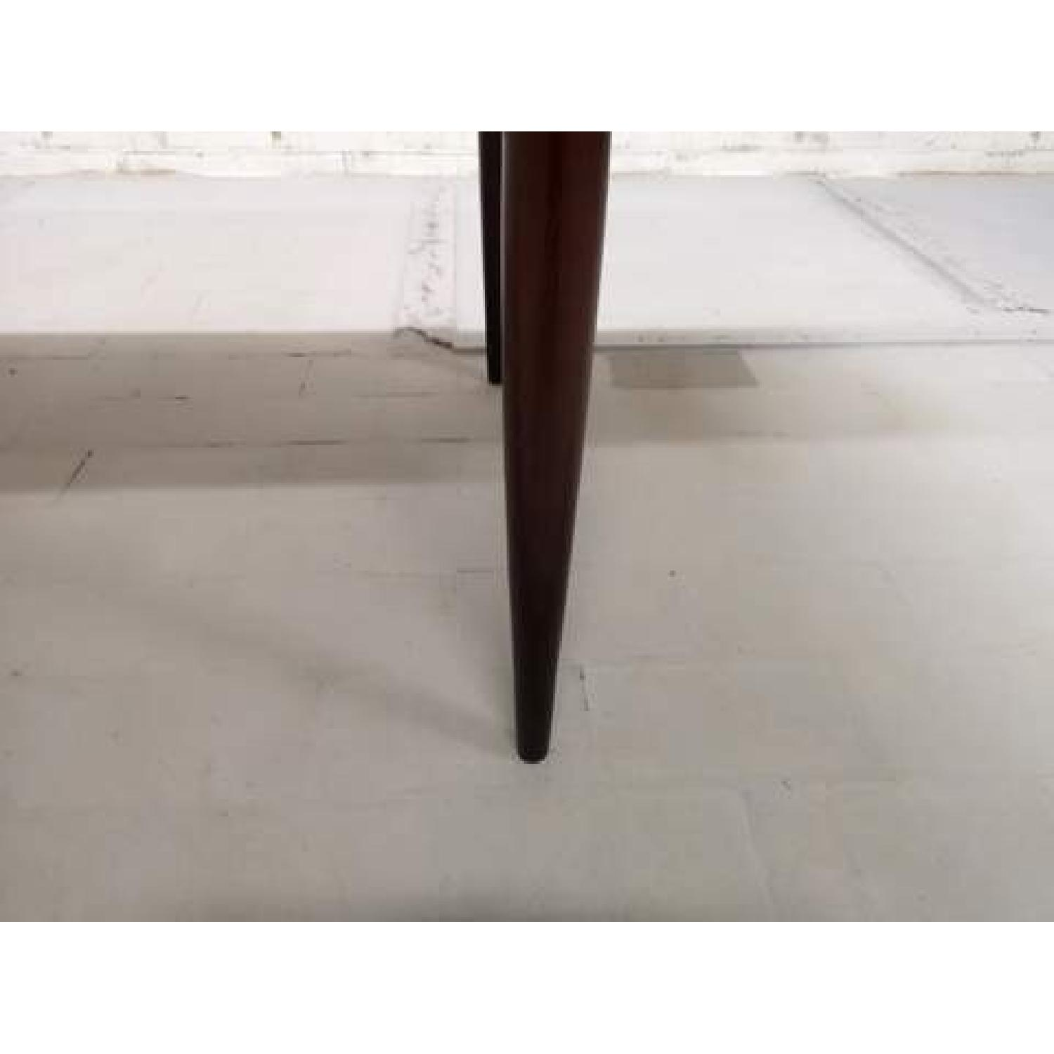Mid-Century Modern Design Extendable Draw Leaf Dining Table - image-5