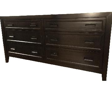 Crate & Barrel 6 Drawer Dresser