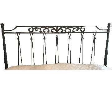 Wesley Allen King Size Iron Headboard