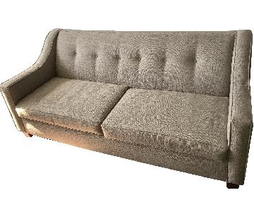 Bob's Grey Fabric Sofa