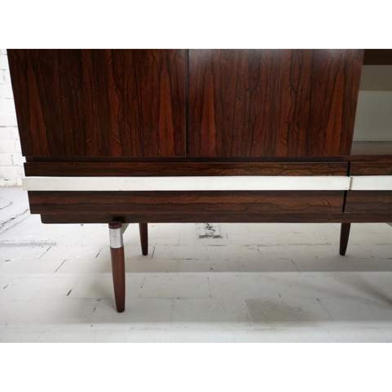 Vintage Retro 70s Danish Mid-Century Modern Display Cabinet-6