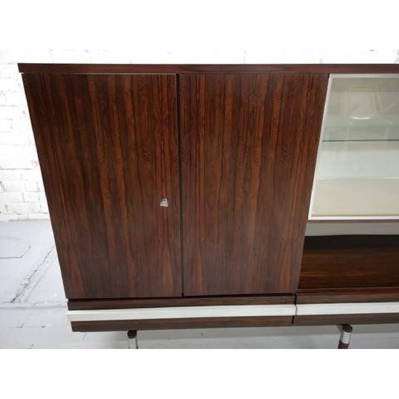 Vintage Retro 70s Danish Mid-Century Modern Display Cabinet-7