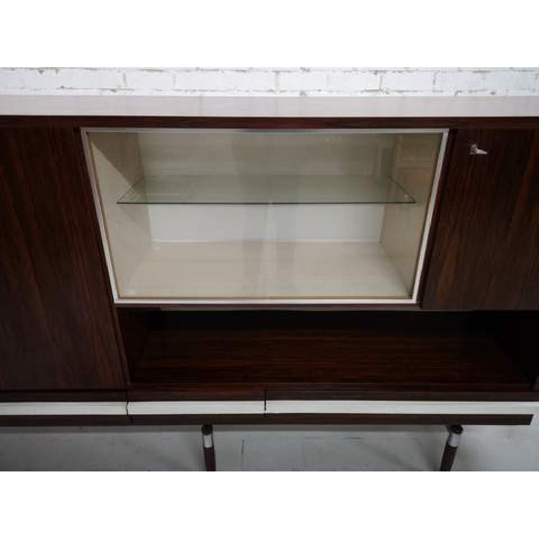 Vintage Retro 70s Danish Mid-Century Modern Display Cabinet-9