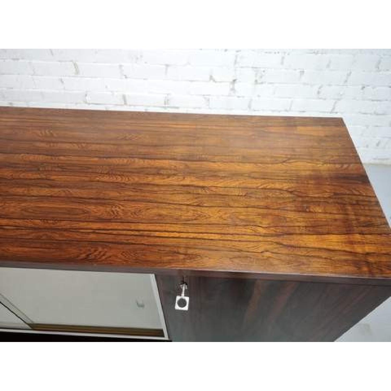 Vintage Retro 70s Danish Mid-Century Modern Display Cabinet-10