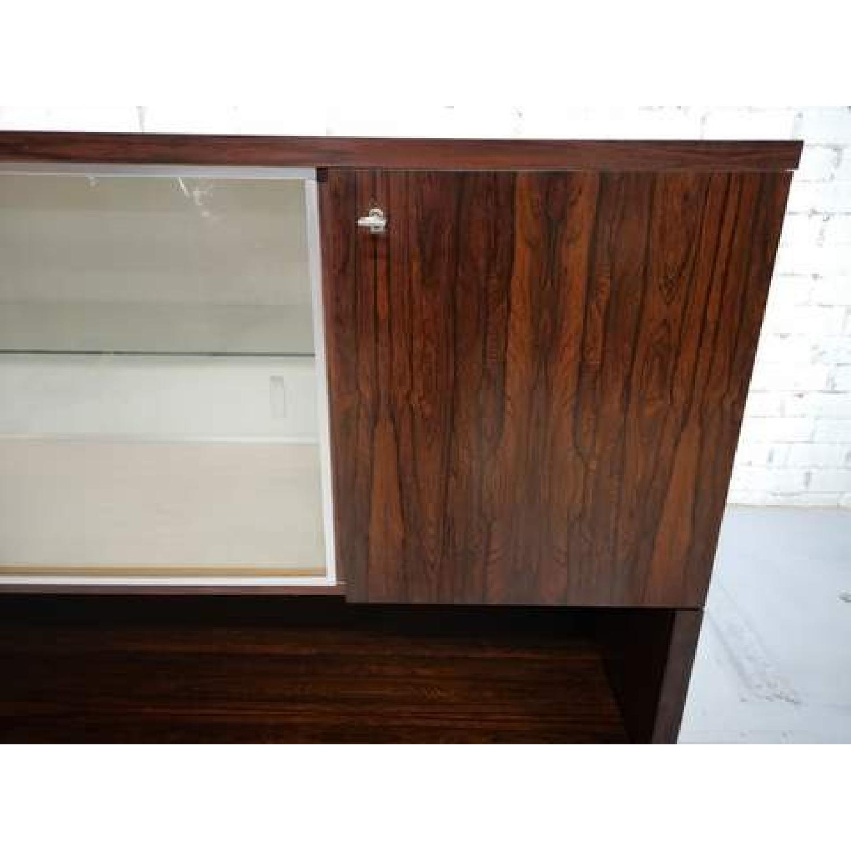 Vintage Retro 70s Danish Mid-Century Modern Display Cabinet-11