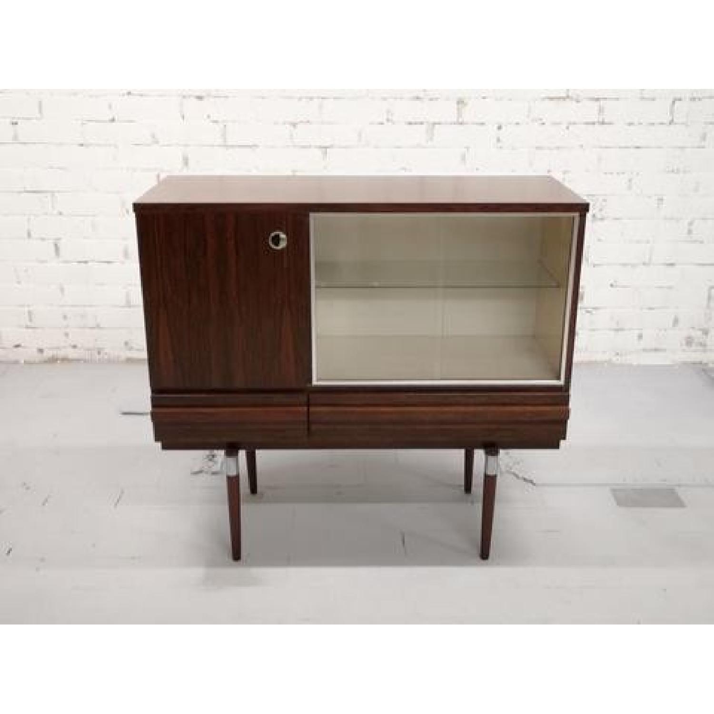 Vintage Retro 70s Danish Mid-Century Modern Display Storage-0