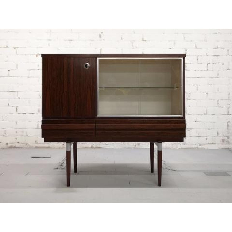 Vintage Retro 70s Danish Mid-Century Modern Display Storage-1