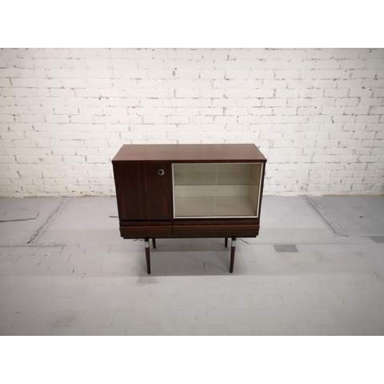 Vintage Retro 70s Danish Mid-Century Modern Display Storage-2