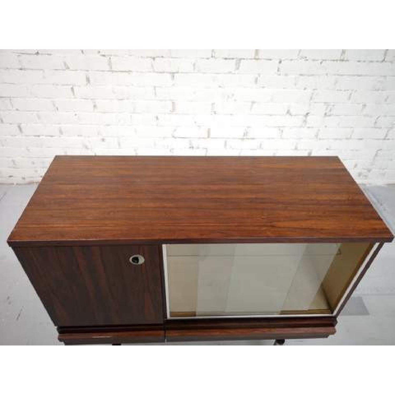 Vintage Retro 70s Danish Mid-Century Modern Display Storage-5