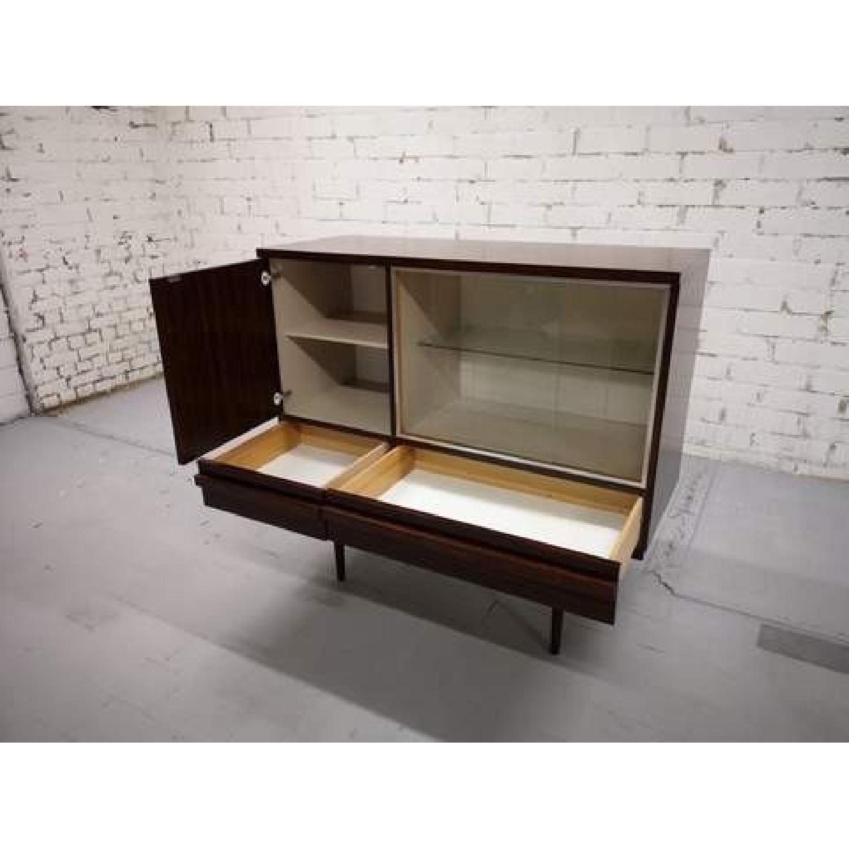 Vintage Retro 70s Danish Mid-Century Modern Display Storage-7