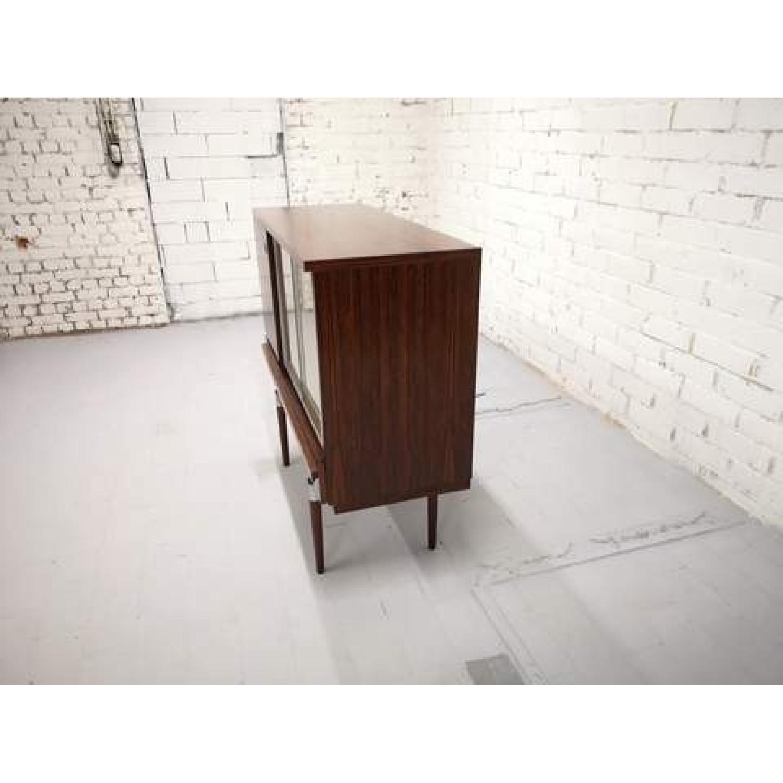 Vintage Retro 70s Danish Mid-Century Modern Display Storage-8