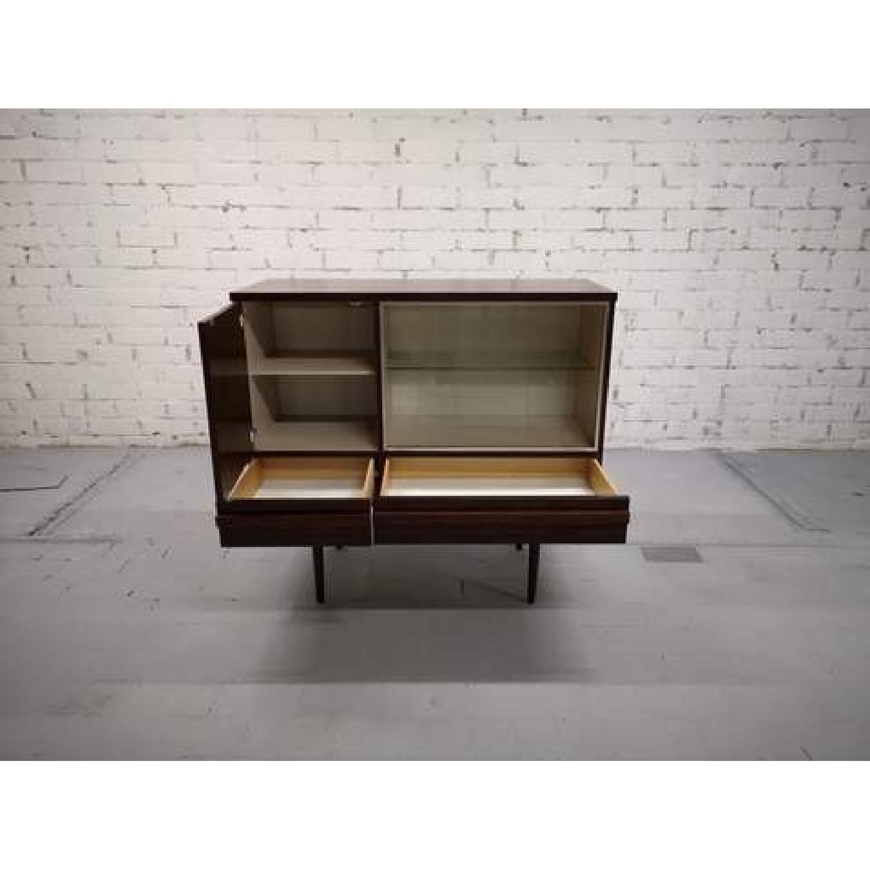 Vintage Retro 70s Danish Mid-Century Modern Display Storage-10