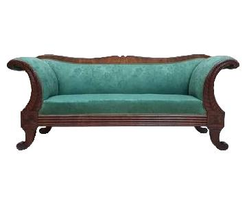 Antique Early 1900s French Biedermeier Sofa
