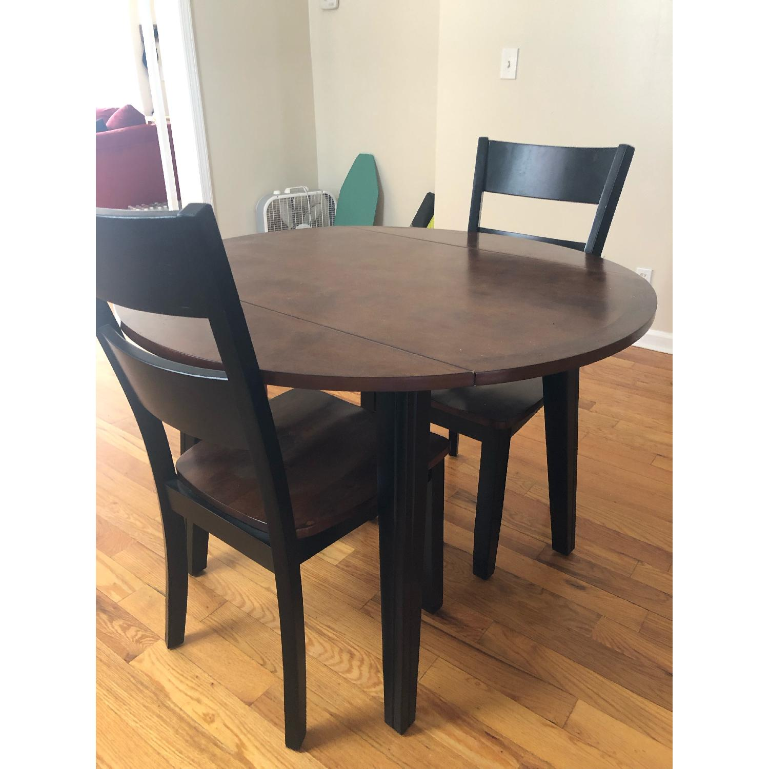 Bob's Blake 3 Piece Drop Leaf Dining Set-0